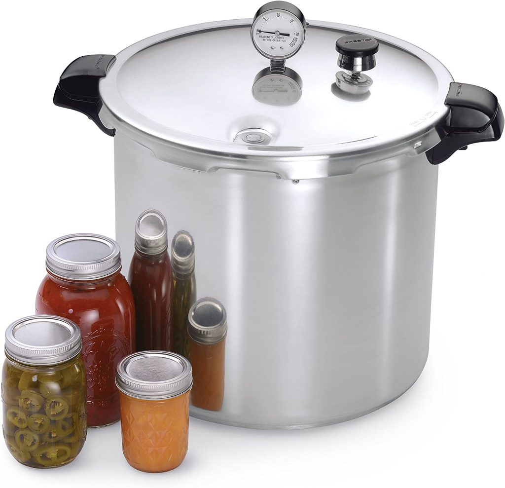 Sample of Pressure cooker for cooking African beans