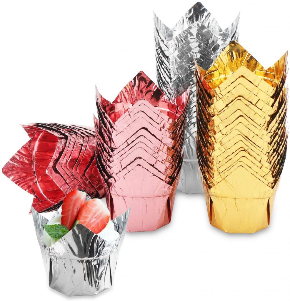 How to make cupcake liners with foil