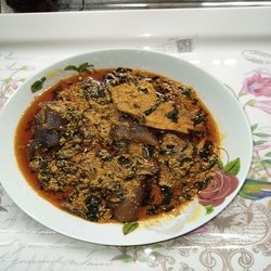how to cook Egusi soup by boiling method
