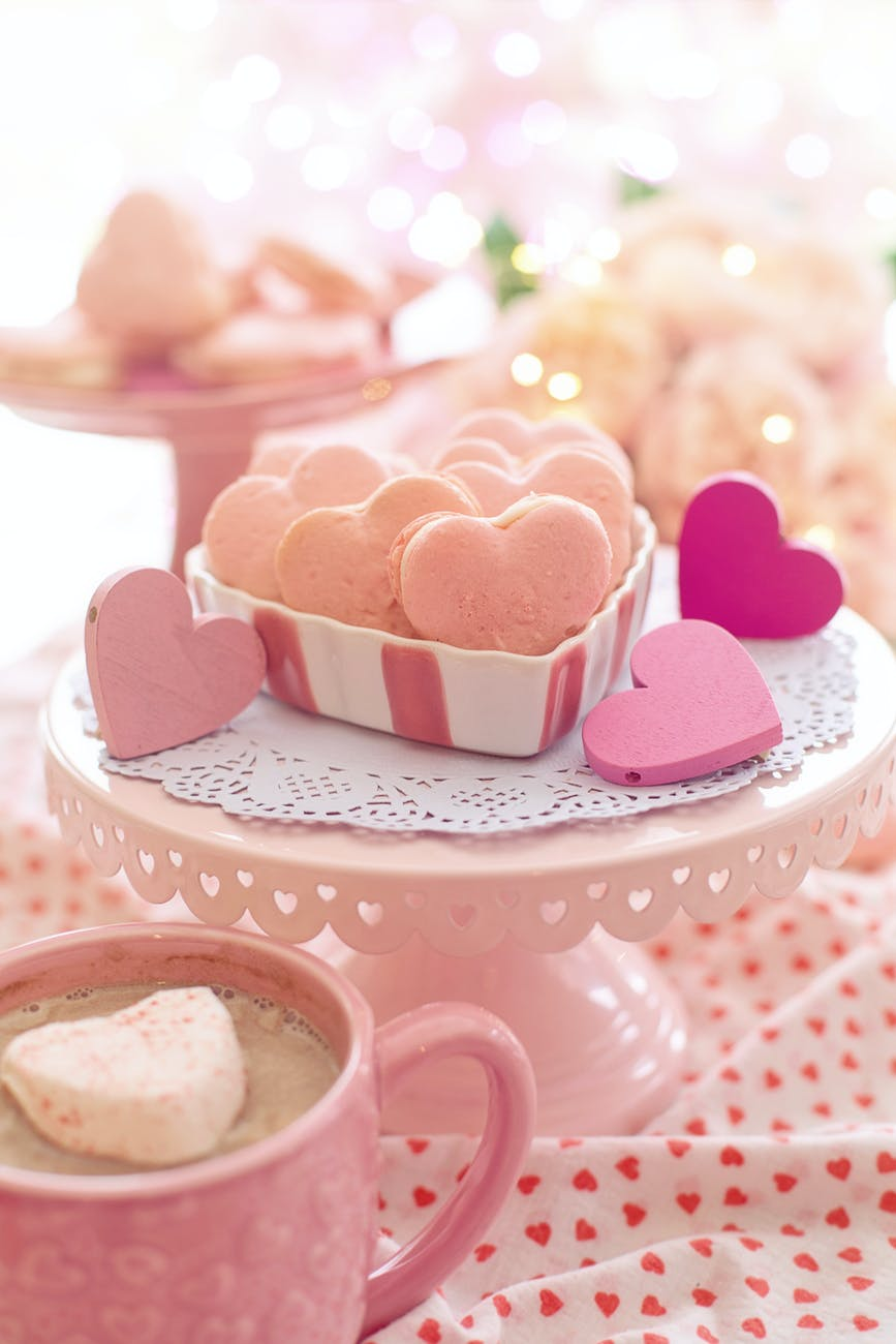 how to make chocolate hearts with a mold - baked pastries