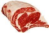 USDA small Prime Beef Rib Eye Bone In Roast, 4 Ribs, 8-9 lbs