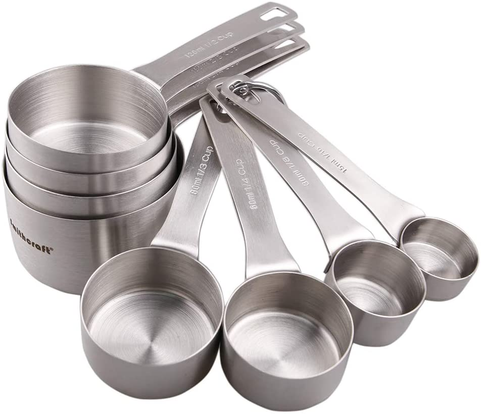 Smithcraft Stainless Steel Measuring Cups Set