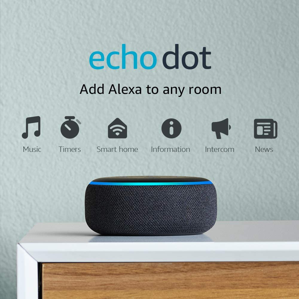 Alexa Echo dot speaker Electronic wedding gift for newly weds