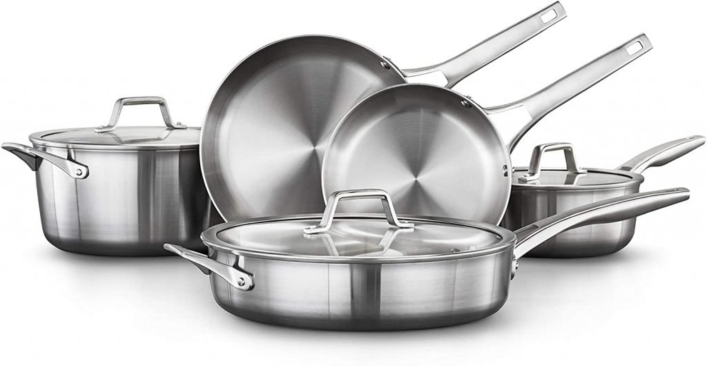 Calphalon cookware for induction stove top
