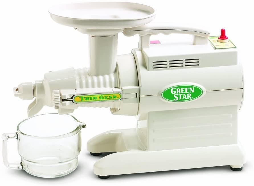 GreenStar Triturating twin gear juicer machine