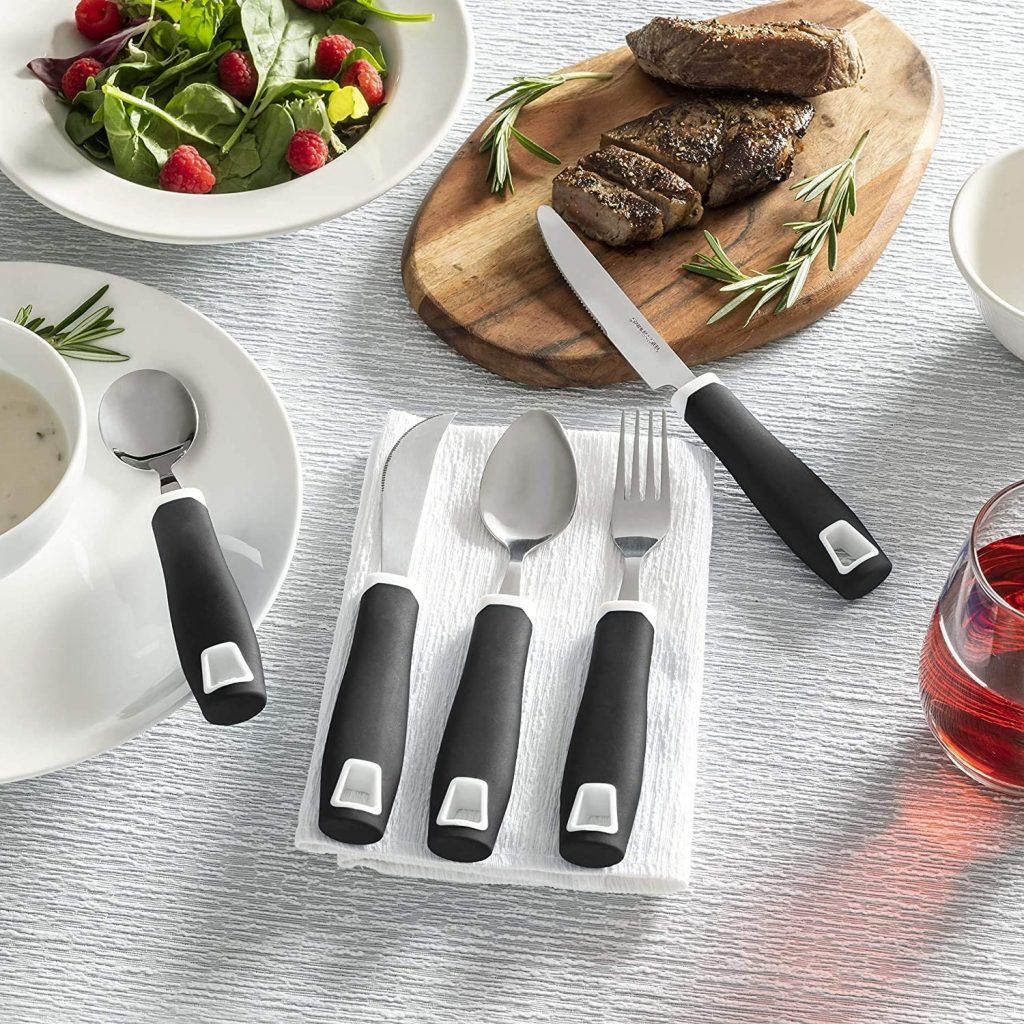 Special Adaptive cooking Utensil for arthritis, hand tremor, Parkinson and elderly